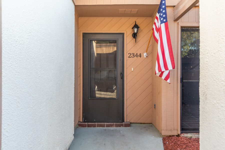 Real Estate Photography - 2344 Flamingo Way, Winter Park, FL, 32792 - Entrance