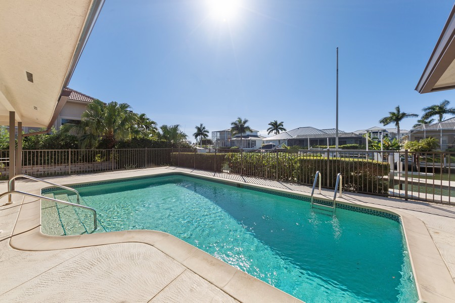 Real Estate Photography - 685 Thrush Ct, Marco Island, FL, 34105 - Pool