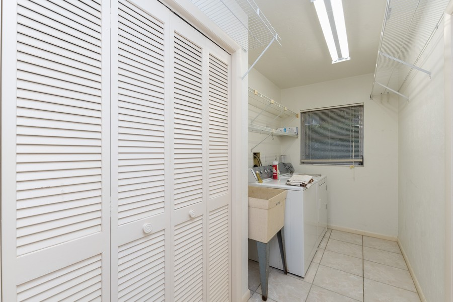 Real Estate Photography - 685 Thrush Ct, Marco Island, FL, 34105 - Laundry Room