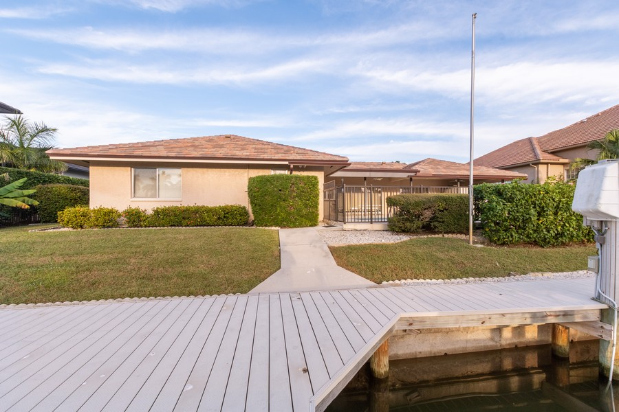 Real Estate Photography - 685 Thrush Ct, Marco Island, FL, 34105 - Rear View