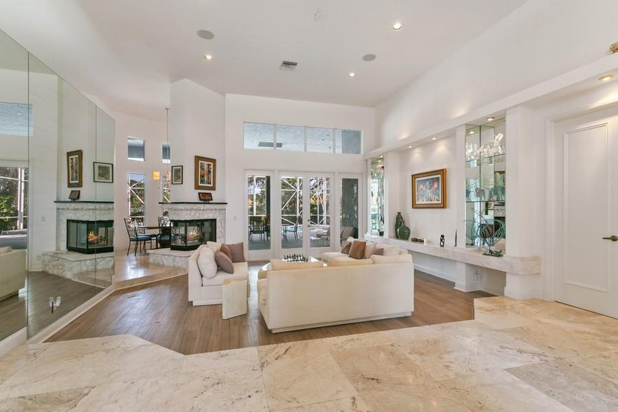 Real Estate Photography - 103 Woodsmuir Ct, Palm Beach Gardens, FL, 33418 - Formal Living Room