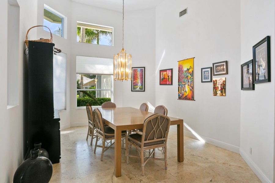 Real Estate Photography - 103 Woodsmuir Ct, Palm Beach Gardens, FL, 33418 - Formal Dining Room