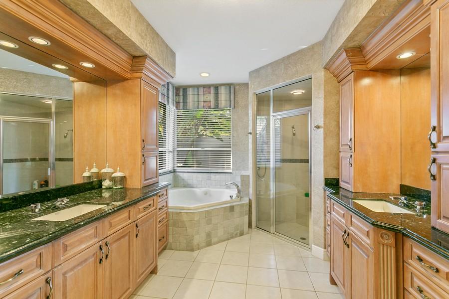Real Estate Photography - 103 Woodsmuir Ct, Palm Beach Gardens, FL, 33418 - Master Bath