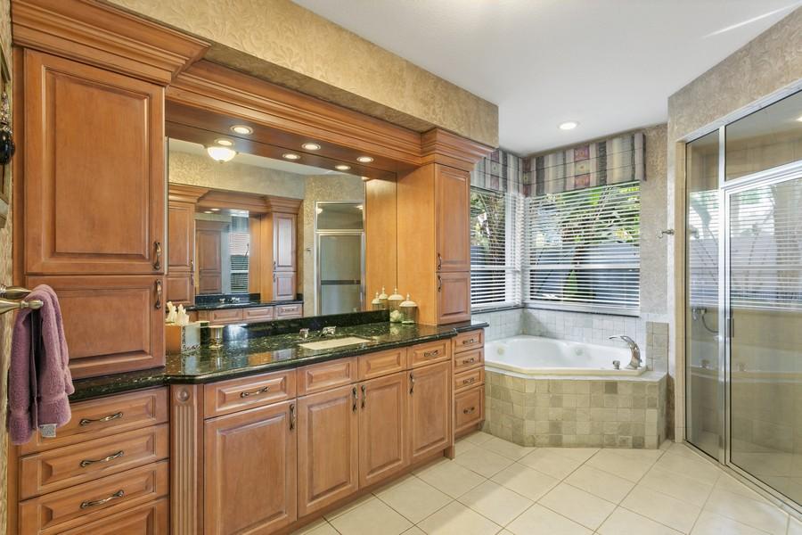 Real Estate Photography - 103 Woodsmuir Ct, Palm Beach Gardens, FL, 33418 - Master Bathroom with Steam Shower