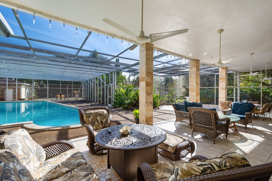 Real Estate Photography - 1925 Dolphin Dr, Belleair Bluffs, FL, 33770 - Patio
