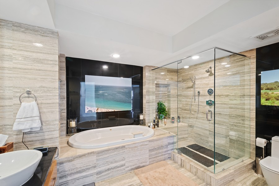 Real Estate Photography - 101 S Fort Lauderdale Beach Blvd 2206, Fort Lauderdale, FL, 33316 - Master Bathroom