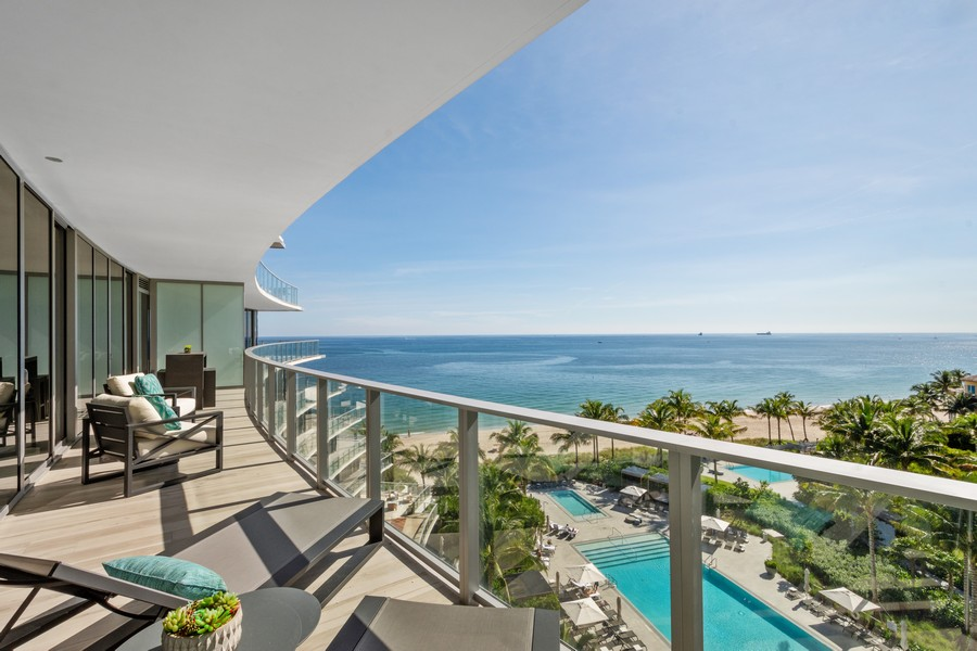 Real Estate Photography - 2200 N Ocean Blvd N703, Fort Lauderdale, FL, 33305 - Front View