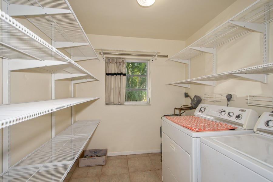Real Estate Photography - 851 SW 4th St, Boca Raton, FL, 33486 - Laundry Room