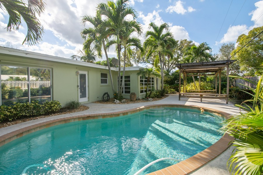 Real Estate Photography - 851 SW 4th St, Boca Raton, FL, 33486 - Rear View