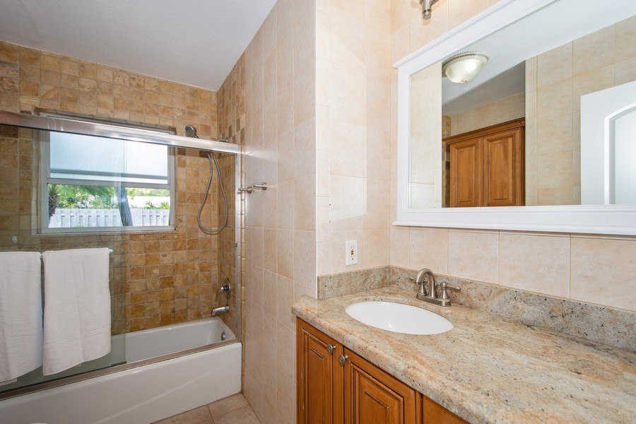 Real Estate Photography - 851 SW 4th St, Boca Raton, FL, 33486 - 2nd Bathroom