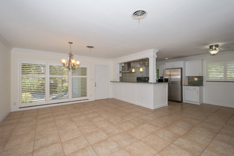Real Estate Photography - 851 SW 4th St, Boca Raton, FL, 33486 - Kitchen / Living Room
