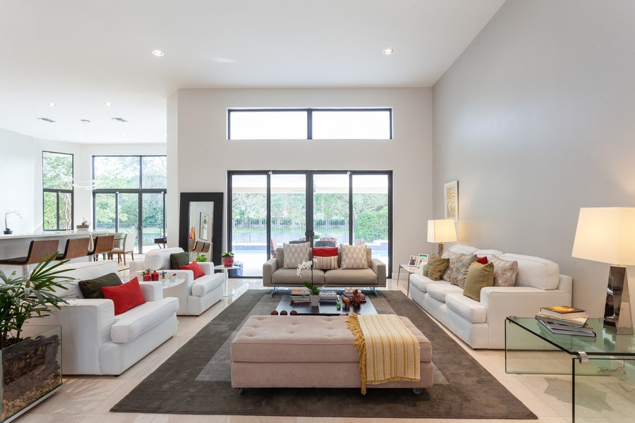 Real Estate Photography - 420 Alexandra Cir, Weston, FL, 33326 - Living Room