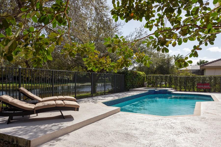 Real Estate Photography - 420 Alexandra Cir, Weston, FL, 33326 - Back Yard