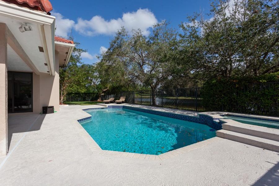 Real Estate Photography - 420 Alexandra Cir, Weston, FL, 33326 - Pool