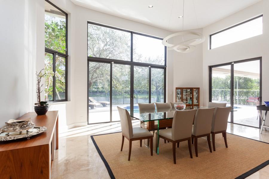 Real Estate Photography - 420 Alexandra Cir, Weston, FL, 33326 - Dining Room