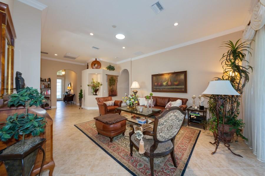 Real Estate Photography - 16177 Parque Lane, Naples, FL, 34110 - Living Room