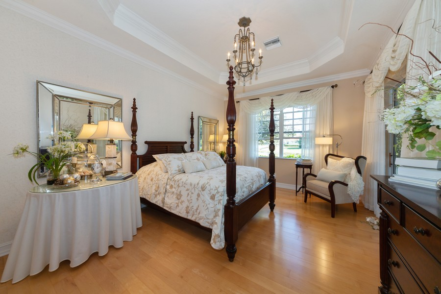 Real Estate Photography - 16177 Parque Lane, Naples, FL, 34110 - Master Bedroom