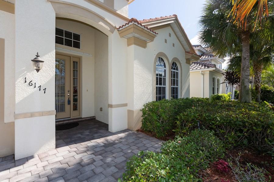 Real Estate Photography - 16177 Parque Lane, Naples, FL, 34110 - Entrance
