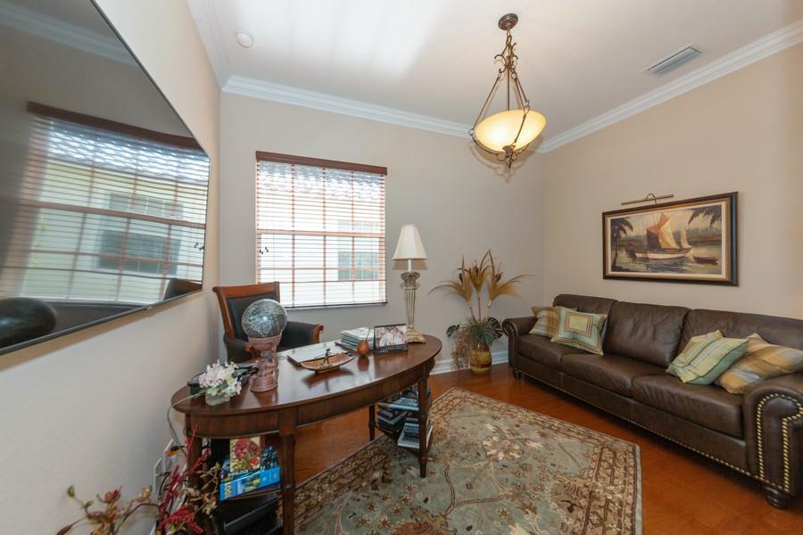 Real Estate Photography - 16177 Parque Lane, Naples, FL, 34110 - Den