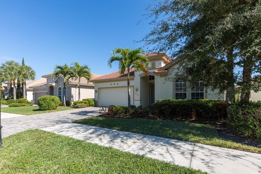Real Estate Photography - 16177 Parque Lane, Naples, FL, 34110 - Front View