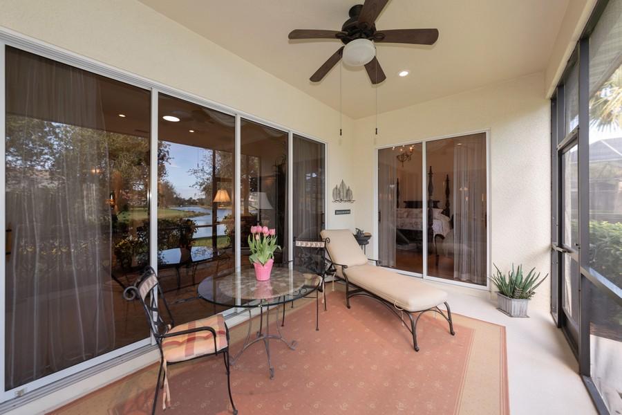 Real Estate Photography - 16177 Parque Lane, Naples, FL, 34110 - Patio