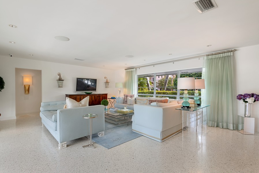 Real Estate Photography - 2825 NE 25th Street, Fort Lauderdale, FL, 33305 - Living Room