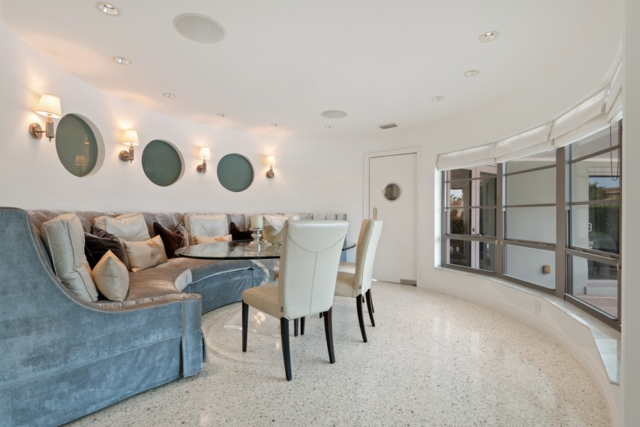 Real Estate Photography - 2825 NE 25th Street, Fort Lauderdale, FL, 33305 - Dining Room