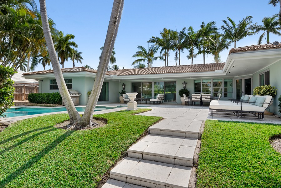Real Estate Photography - 2825 NE 25th Street, Fort Lauderdale, FL, 33305 - Rear View