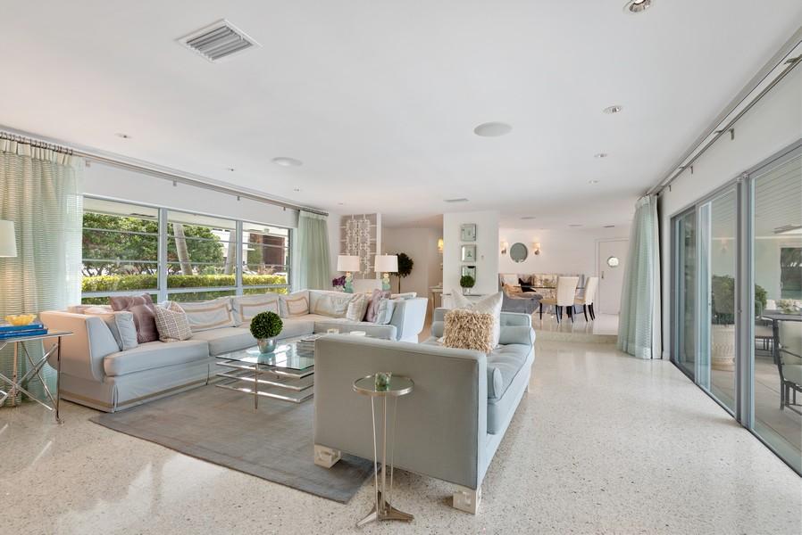 Real Estate Photography - 2825 NE 25th Street, Fort Lauderdale, FL, 33305 - Living Room / Dining Room
