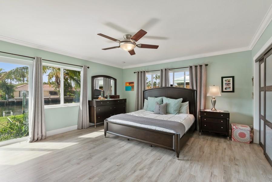Real Estate Photography - 2864 NE 25th Court, Fort Lauderdale, FL, 33305 - Master Bedroom