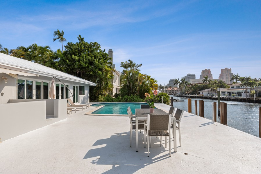 Real Estate Photography - 2864 NE 25th Court, Fort Lauderdale, FL, 33305 - Back Yard