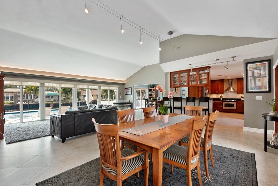 Real Estate Photography - 2864 NE 25th Court, Fort Lauderdale, FL, 33305 - Kitchen / Dining Room