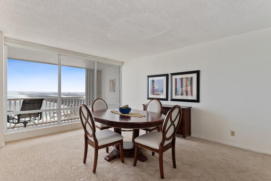 Real Estate Photography - 2200 S Ocean Lane, 2904, Fort Lauderdale, FL, 33316 - Dining Room