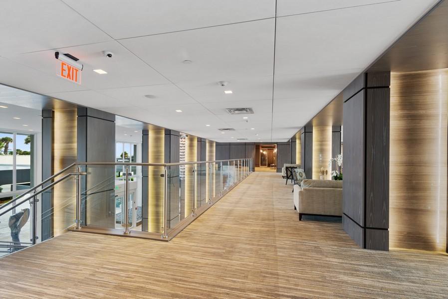 Real Estate Photography - 2200 S Ocean Lane, 2904, Fort Lauderdale, FL, 33316 - New mezzanine level