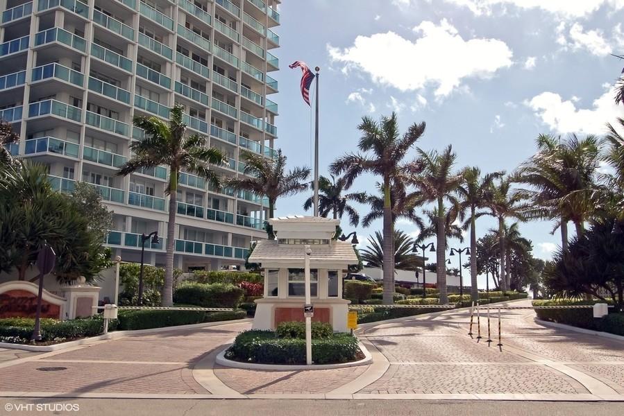 Real Estate Photography - 2200 S Ocean Lane, 2904, Fort Lauderdale, FL, 33316 - Guardhouse