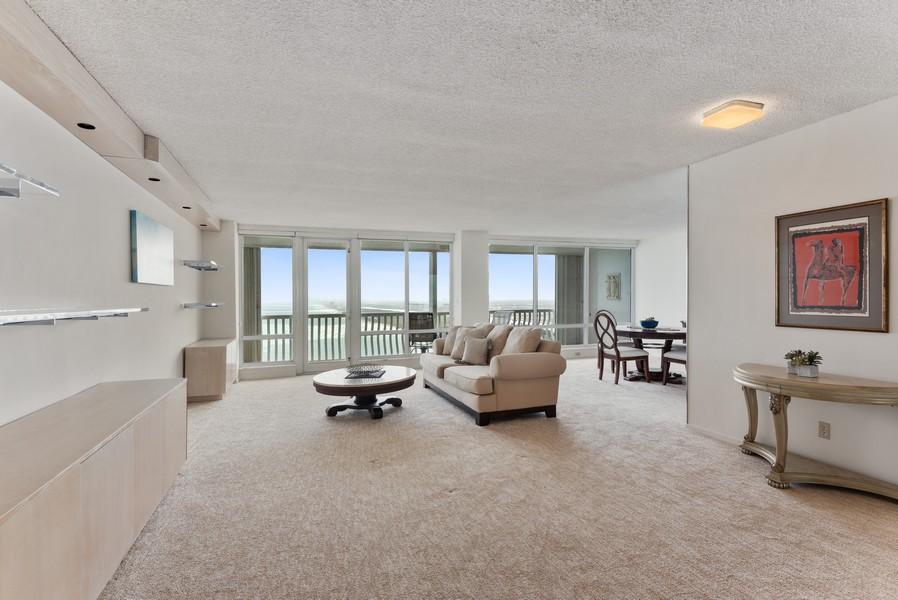 Real Estate Photography - 2200 S Ocean Lane, 2904, Fort Lauderdale, FL, 33316 - Living Room / Dining Room