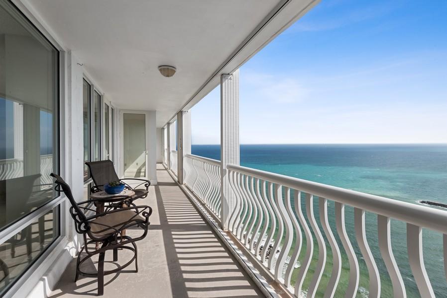 Real Estate Photography - 2200 S Ocean Lane, 2904, Fort Lauderdale, FL, 33316 - Balcony