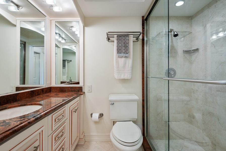 Real Estate Photography - 2100 S Ocean Drive, 7G, Ft Lauderdale, FL, 33316 - Master Bathroom