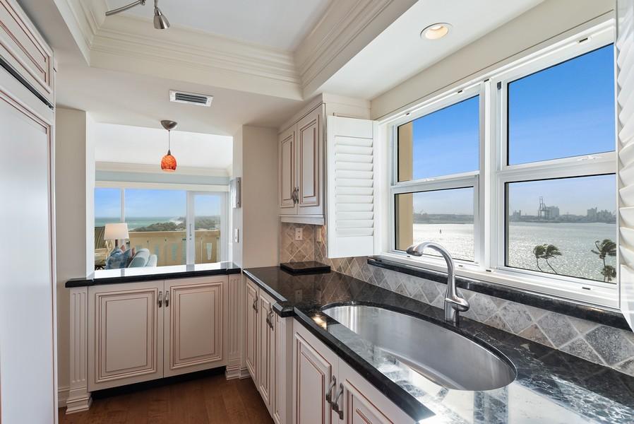 Real Estate Photography - 2100 S Ocean Drive, 7G, Ft Lauderdale, FL, 33316 - Kitchen