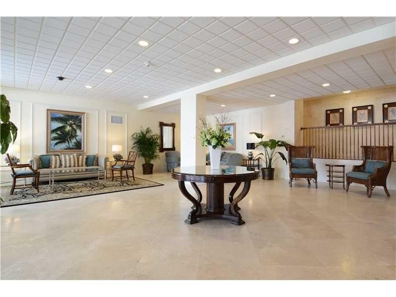 Real Estate Photography - 2100 S Ocean Drive, 7G, Ft Lauderdale, FL, 33316 - Grand Lobby