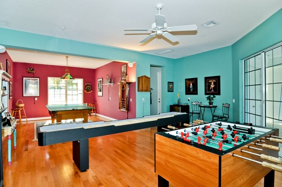 ... Real Estate Photography   41 Southport Cove, Bonita Springs, FL, 34134    Gameroom ...