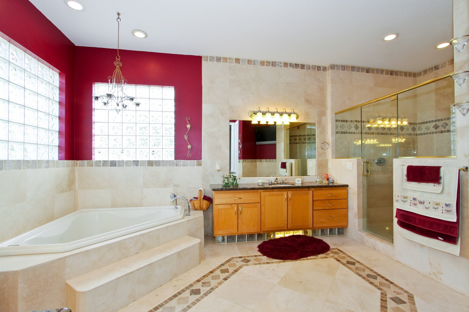 Real Estate Photography - 14542 Draft Horse Ln, Wellington, FL, 33414 - Master Bathroom