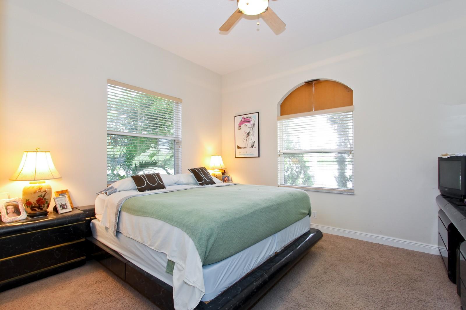 Real Estate Photography - 14542 Draft Horse Ln, Wellington, FL, 33414 - Bedroom