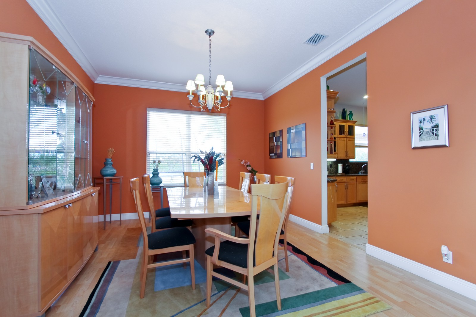 Real Estate Photography - 14542 Draft Horse Ln, Wellington, FL, 33414 - Dining Room