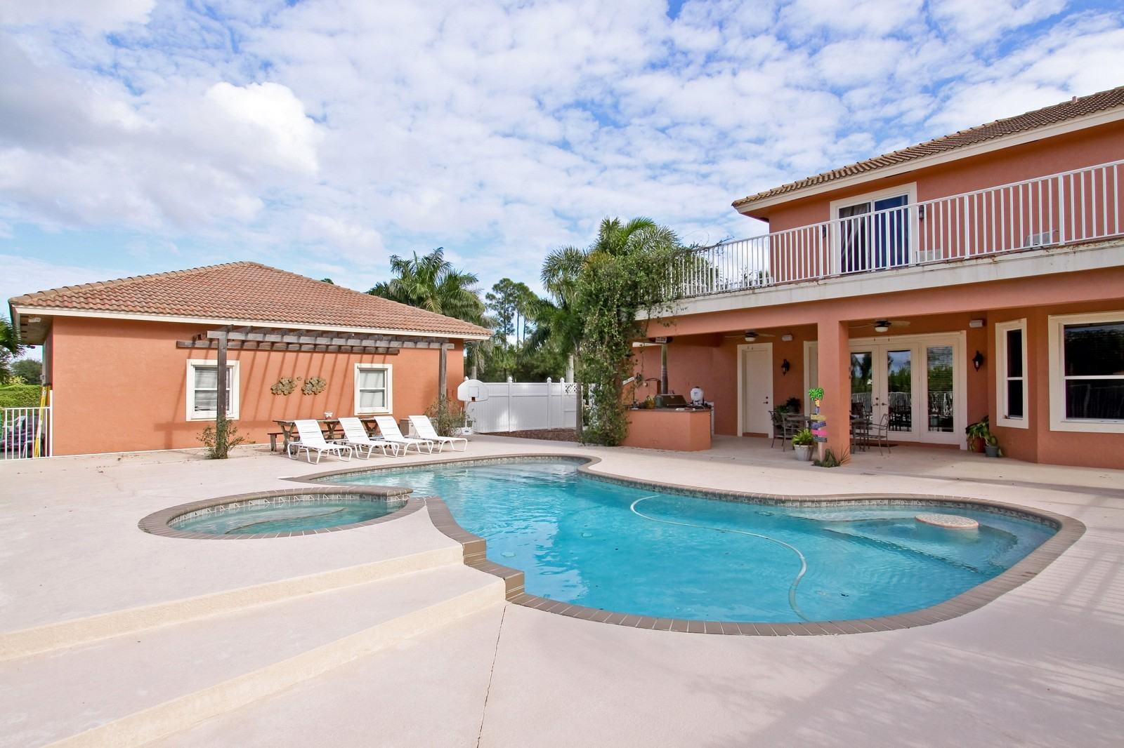 Real Estate Photography - 14542 Draft Horse Ln, Wellington, FL, 33414 - Pool