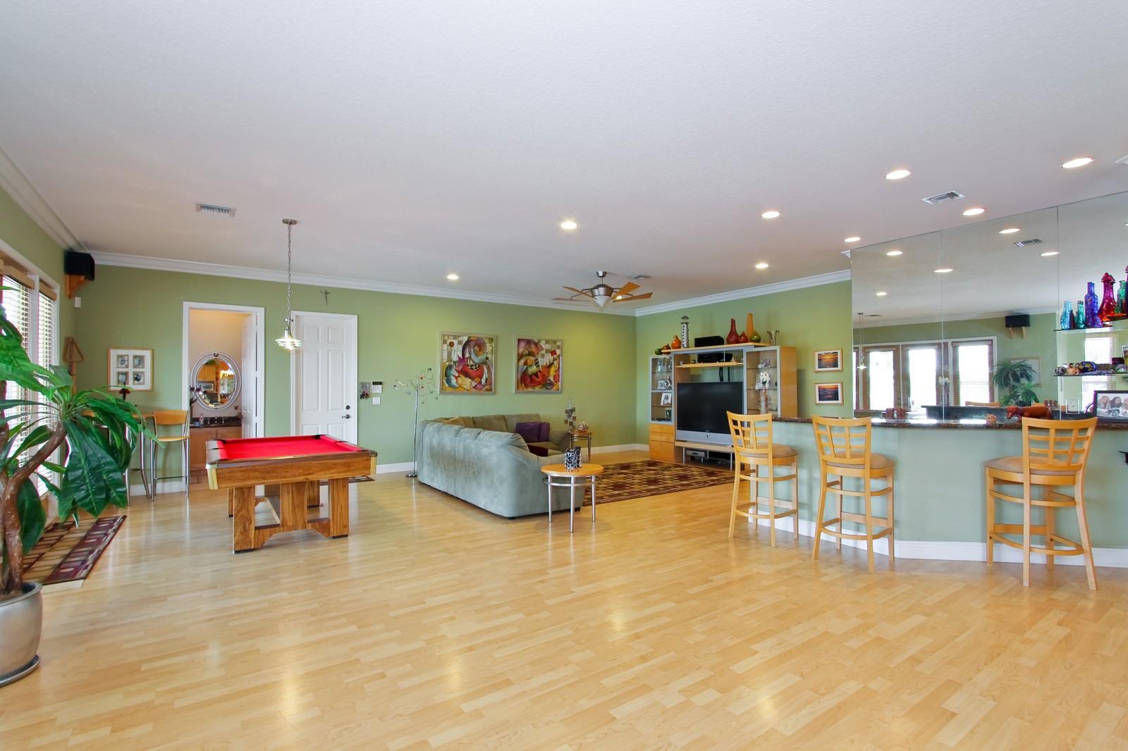 Real Estate Photography - 14542 Draft Horse Ln, Wellington, FL, 33414 - Family Room