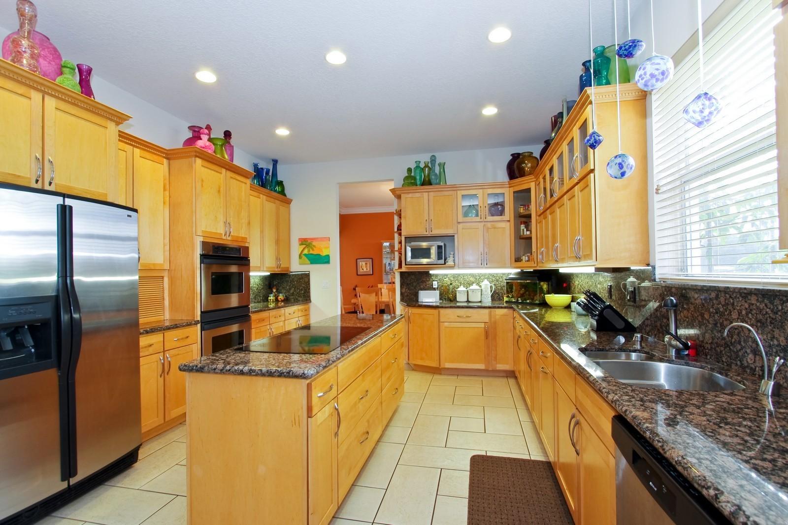 Real Estate Photography - 14542 Draft Horse Ln, Wellington, FL, 33414 - Kitchen