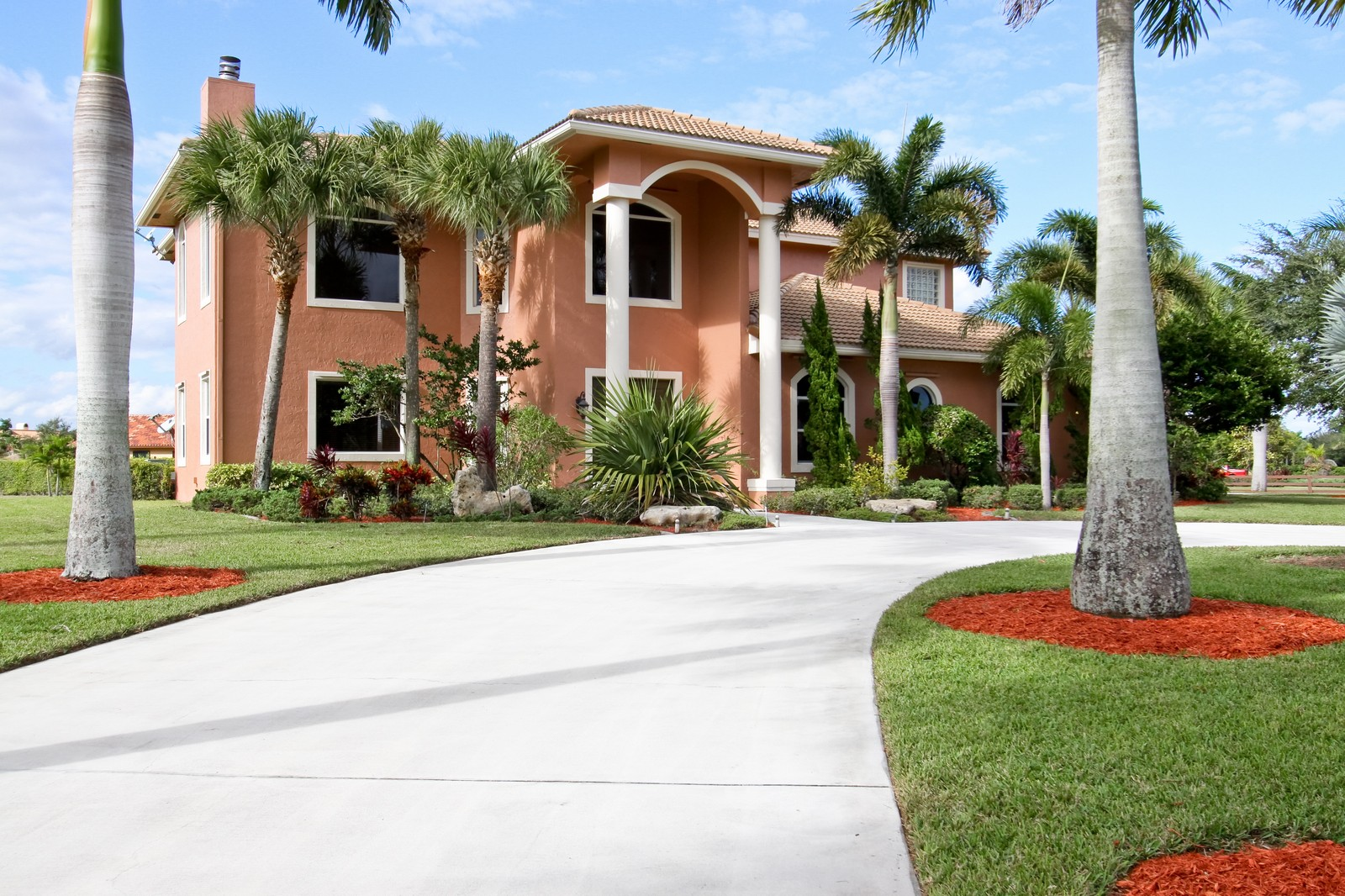 Real Estate Photography - 14542 Draft Horse Ln, Wellington, FL, 33414 - Front View