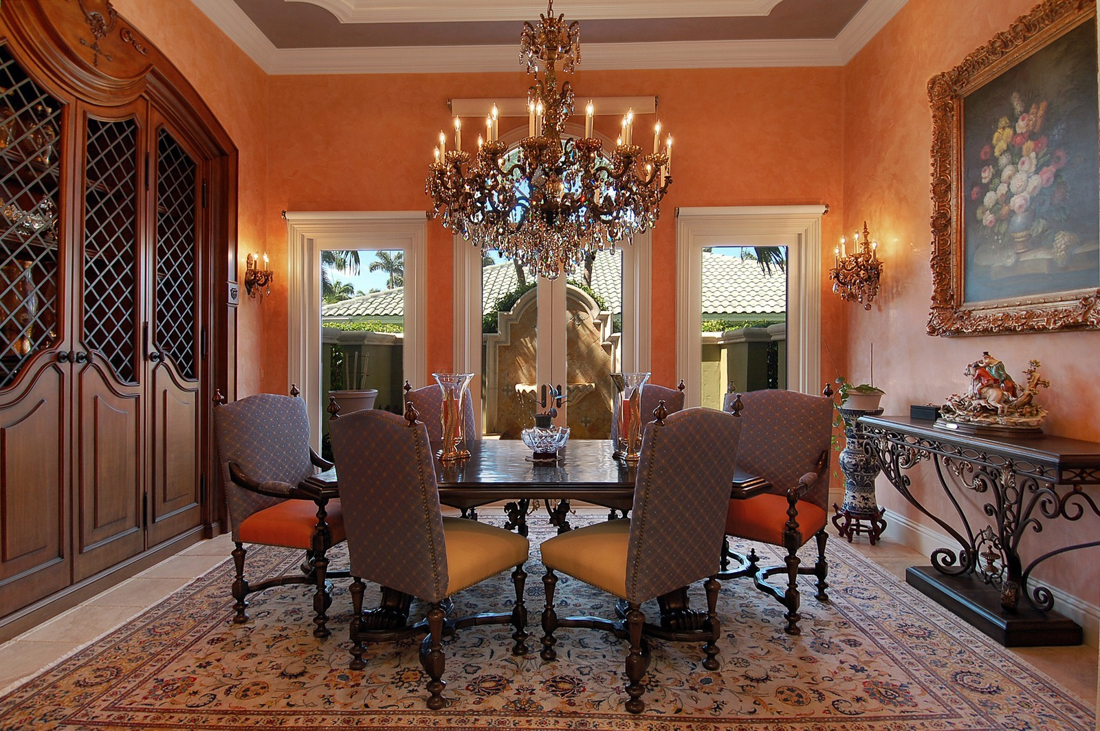 Real Estate Photography - 215 Royal Palm Way, Boca Raton, FL, 33432 - Dining Room