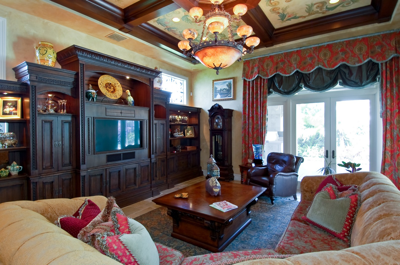 Real Estate Photography - 215 Royal Palm Way, Boca Raton, FL, 33432 - Family Room